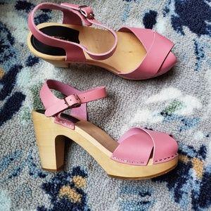 Swedish Hasbeens Merci Sandal size 38